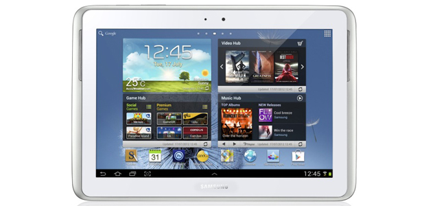 Tablet Galaxy Note 10.1 de Samsung, la nueva apuesta de Movistar