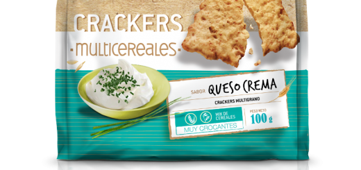 Crackers Multicereales Queso crema -