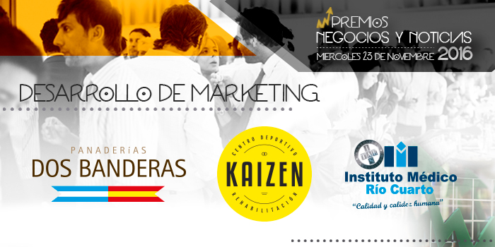 Votaaa! A la empresa con Desarrollo de Marketing del Año