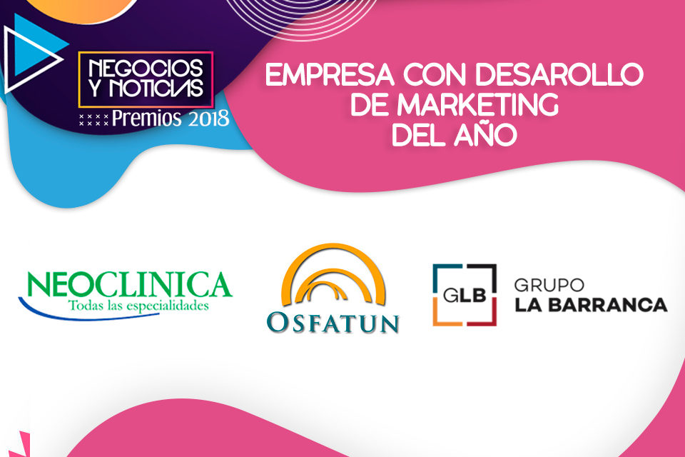 EMPRESA CON DESARROLLO DE MARKETING DEL AÑO
